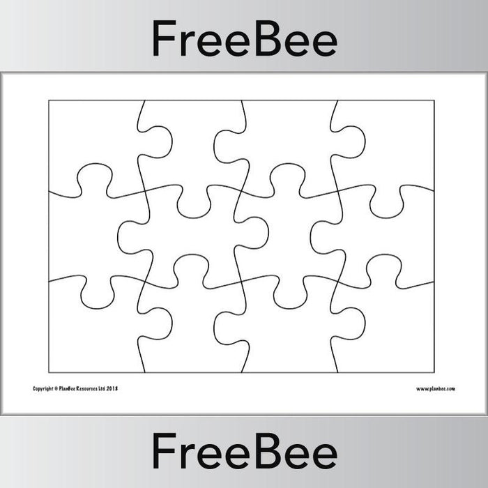 Blank Jigsaws