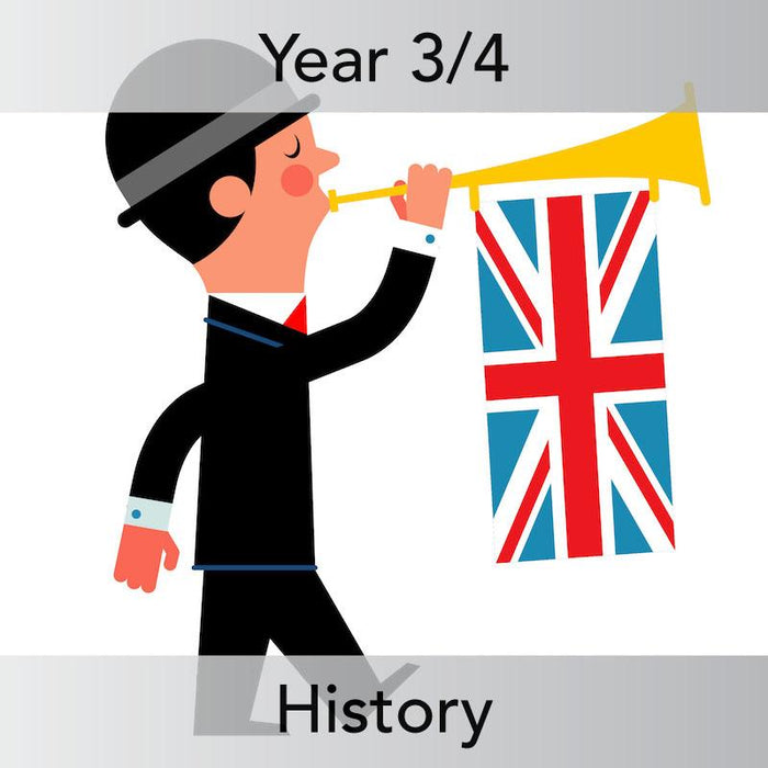 PlanBee British History Heroes - History Primary Lesson Planning - KS2