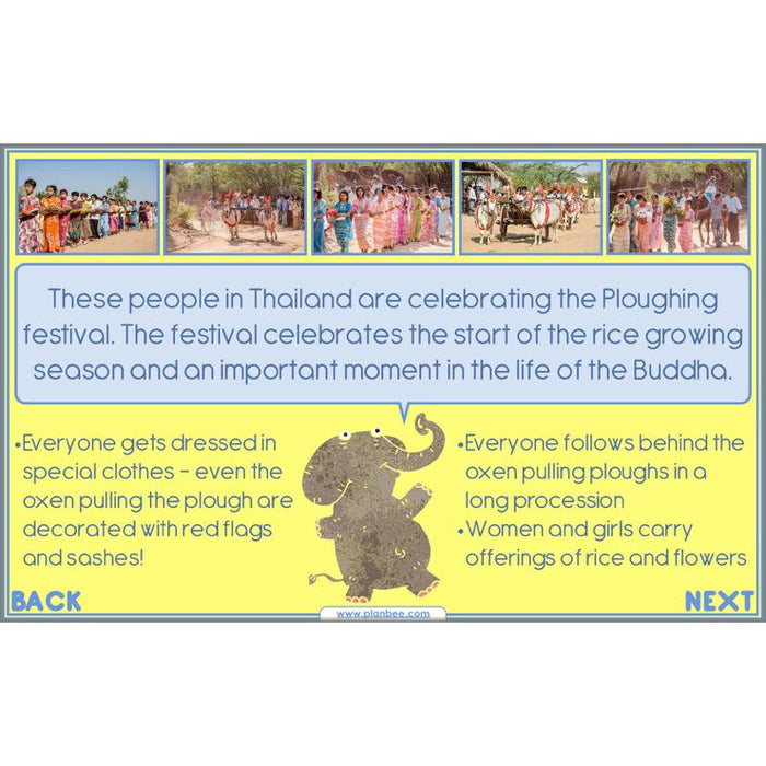 PlanBee Buddhist Festivals: Complete set of RE lessons for KS2