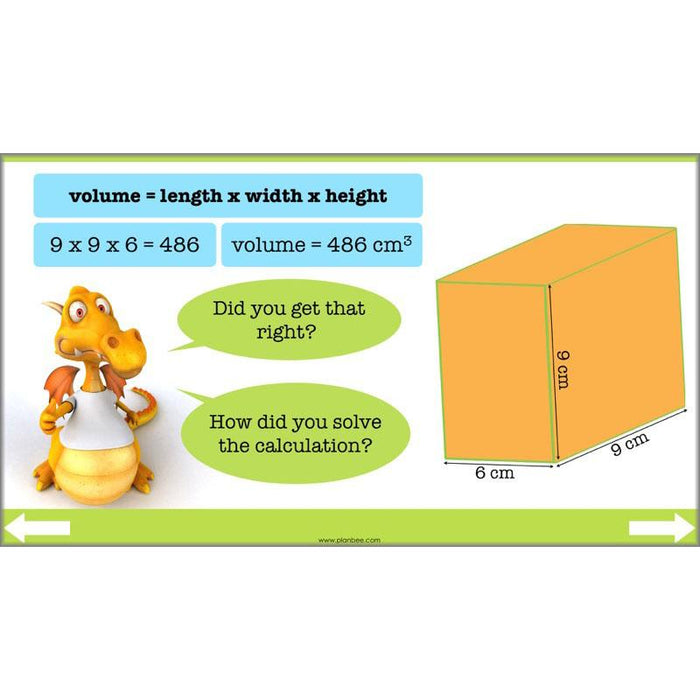 PlanBee Compound Shapes Volume and Area: KS2 Maths
