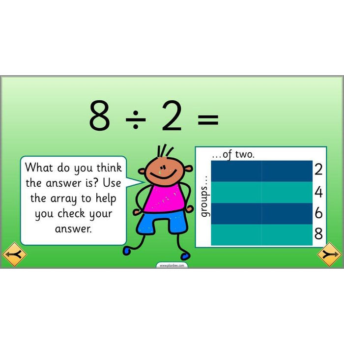 PlanBee Can We Link Multiplication and Division? Year 2 Maths scheme of work