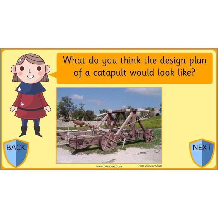 PlanBee KS1 Castles Topic - Year 1 & Year 2 cross-curricular planning
