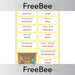 PlanBee Christmas Anagrams | PlanBee FreeBees