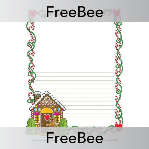 PlanBee Christmas Writing Frames | PlanBee FreeBees