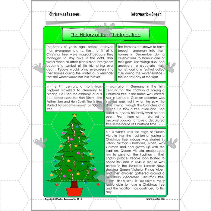 PlanBee KS2 Christmas lessons and activities for Year 3 and Year 4
