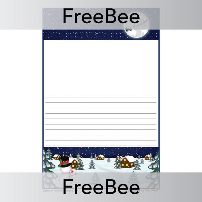 Christmas Writing Frames