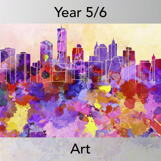PlanBee Cityscapes Art Lessons for KS2 created by PlanBee