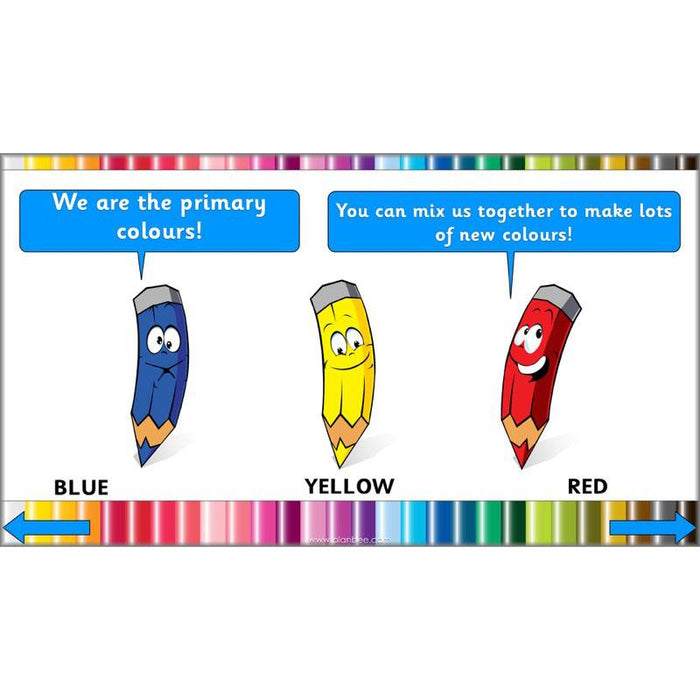 Colour Creations: Primary Colours