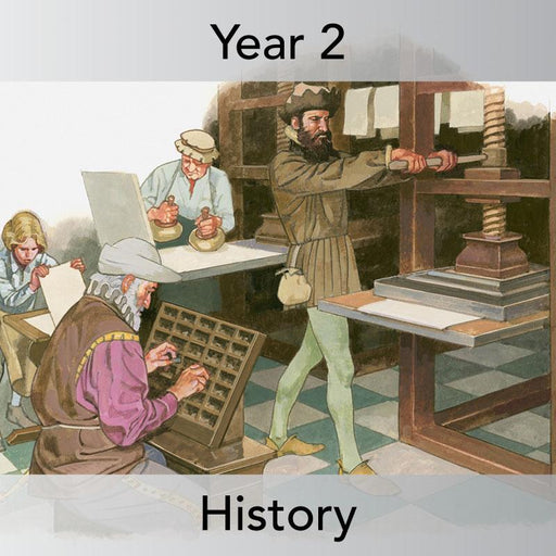 PlanBee Communication Then and Now: Primary History Plans for KS1