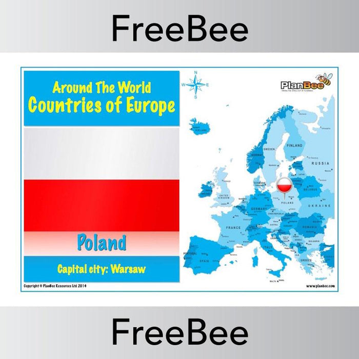 Countries in Europe Posters