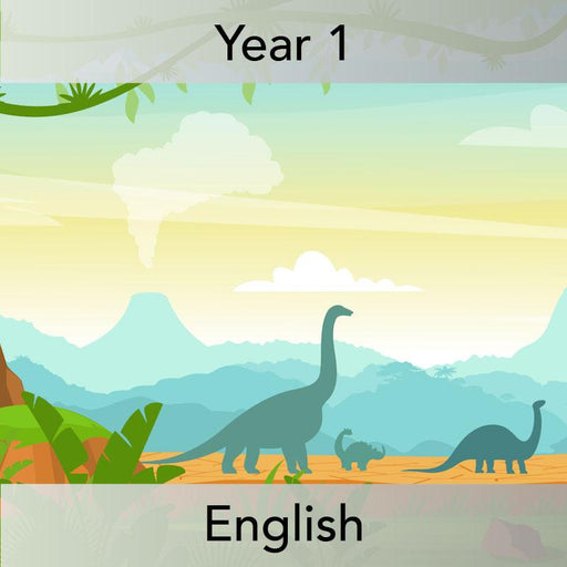 PlanBee Describing Dinosaurs Year 1 - Dinosaur Writing Activities KS1