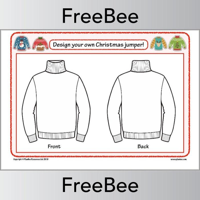 Design a Christmas Jumper