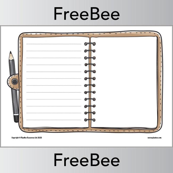 PlanBee FREE Diary Templates KS1 | Diary Entry Templates for Primary