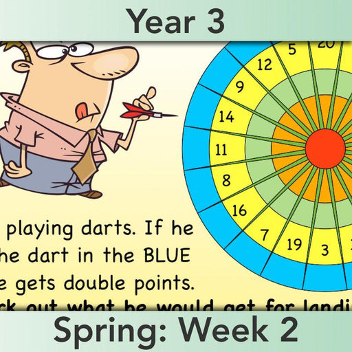 PlanBee Doubling and Halving Year 3 Maths Lesson Plan Packs | KS2