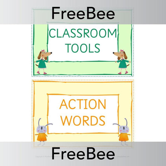 PlanBee DT Vocabulary Cards | Display Pack | PlanBee