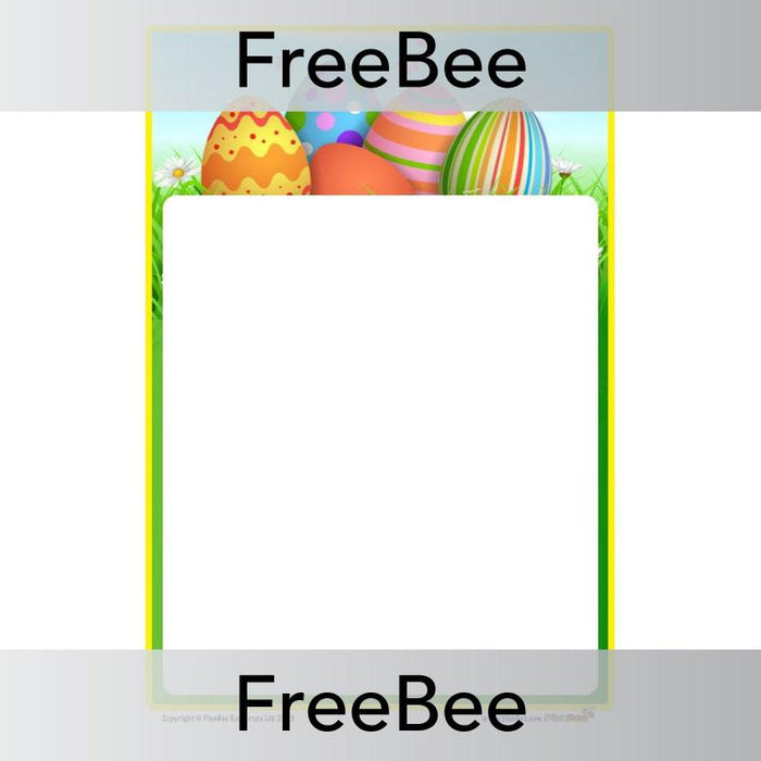 PlanBee Easter Writing Frames KS1 | PlanBee Free Resources