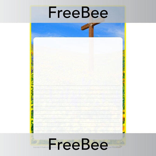 PlanBee Easter Writing Activities | Free PlanBee Writing Frame KS2