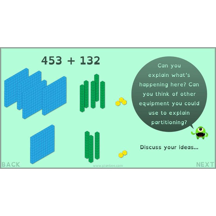 PlanBee Exploring Addition - Year 4 Addition & Subtraction Maths Planning