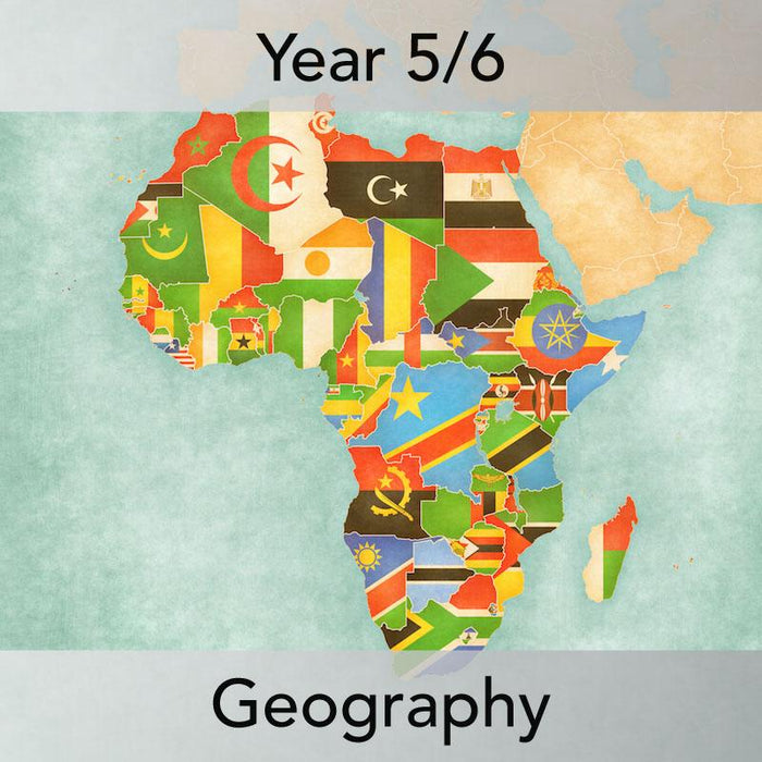 PlanBee Exploring Africa: UKS2 Geography resources Year 5 & Year 6