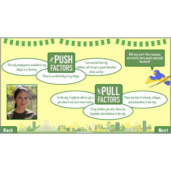 PlanBee Exploring Brazil KS2 Lesson Plan Pack for Year 5/6 Geography