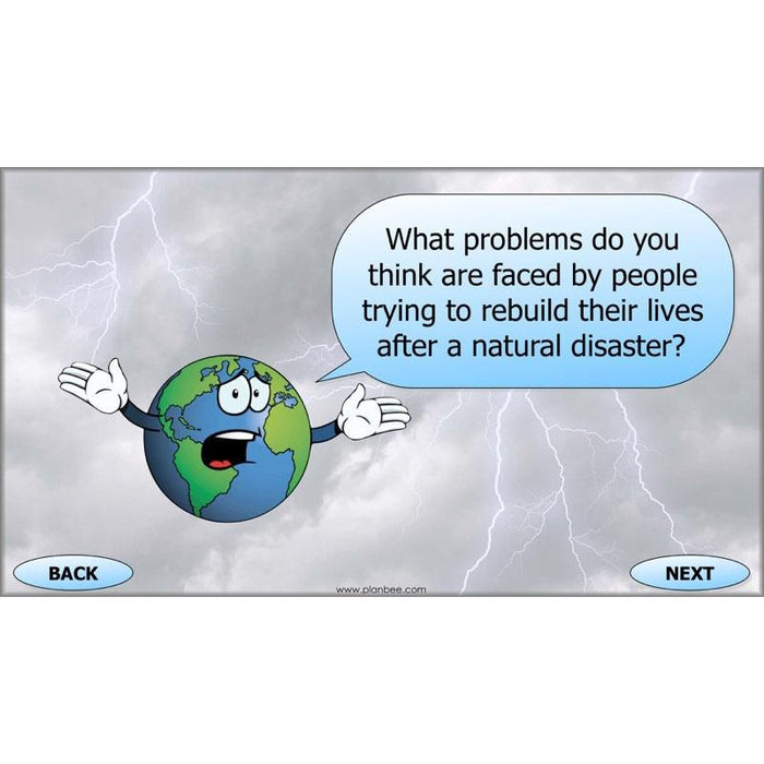 PlanBee Natural Disaster KS2 Extreme Earth Topic by PlanBee