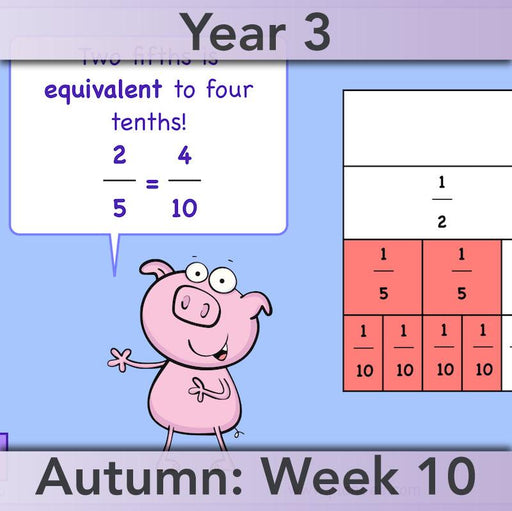 PlanBee Finding Fractions: Year 3 fractions of amounts plans and resources