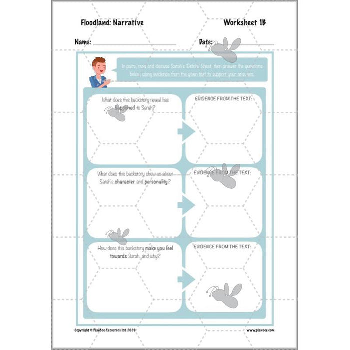 PlanBee Complete Floodland KS2 Planning Pack | Year 6 Lessons & Resources