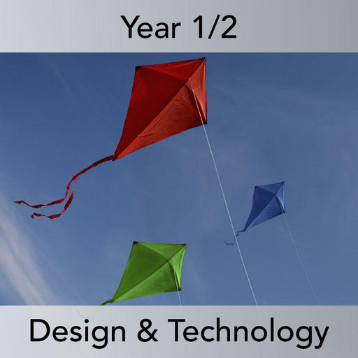 PlanBee Flying Kites: Complete set of DT lessons for KS1