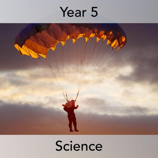 PlanBee Forces in Action: Forces Year 5 Planning Pack | PlanBee Science