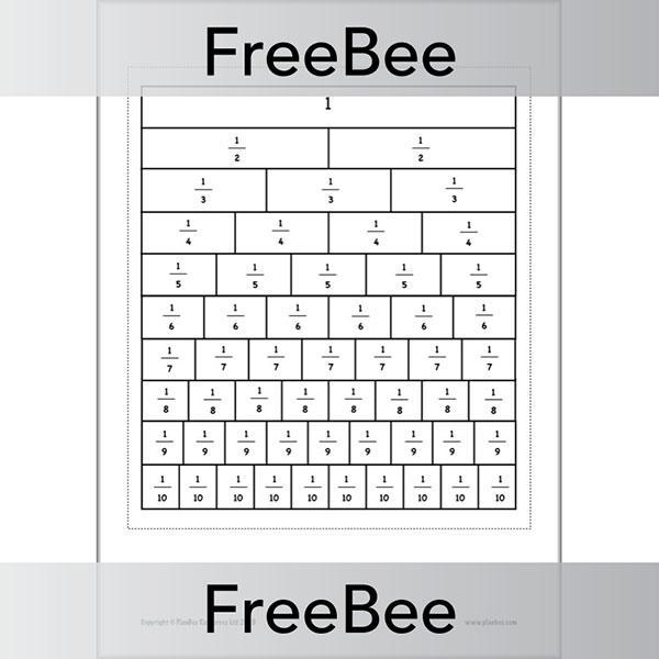 PlanBee Fraction Walls KS2 | Free, Printable PDFs