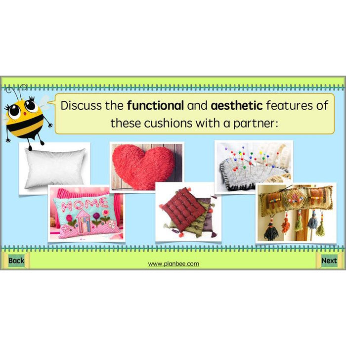 PlanBee Funky Furnishings KS2: DT Lesson Plans for Year 5 & 6