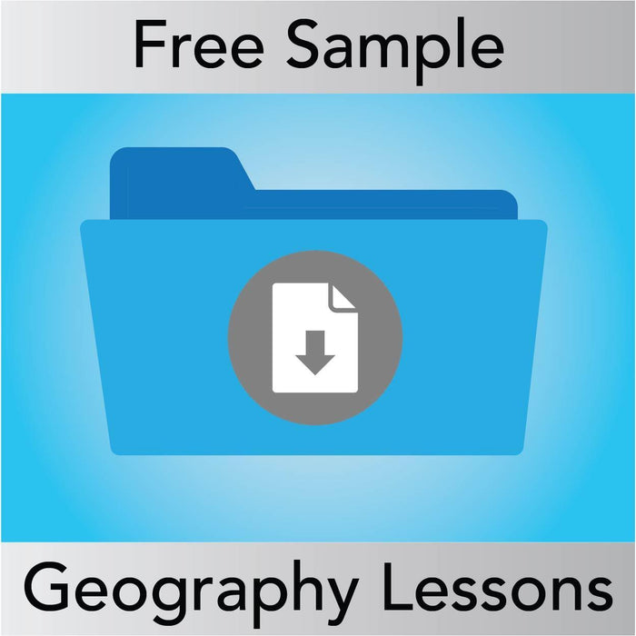 SAMPLE Geography Lessons from Year 1 to Year 6