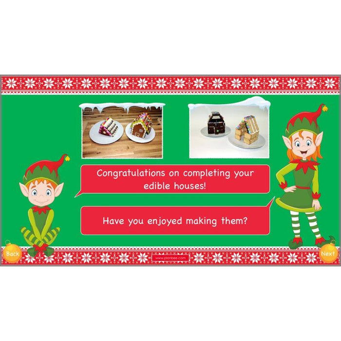PlanBee Gingerbread Houses KS2 Christmas Cooking with Kids