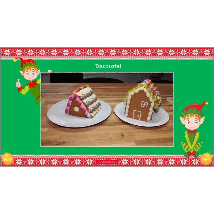 Gingerbread Houses: Decorating
