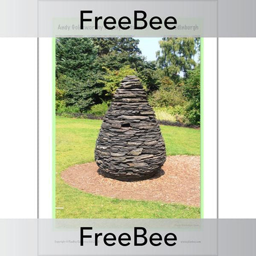PlanBee Andy Goldsworthy Art for Kids | Free PlanBee Display
