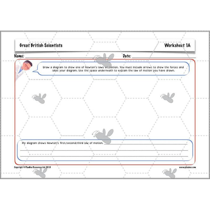 PlanBee Great British Scientists: KS2 Science Planning and Resources - PlanBee