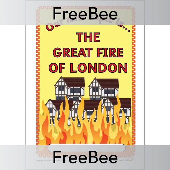 Great Fire of London Topic Bundle Cover