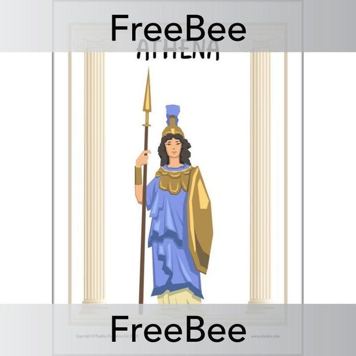 PlanBee Ancient Greek Gods and Goddesses KS2 Posters | PlanBee