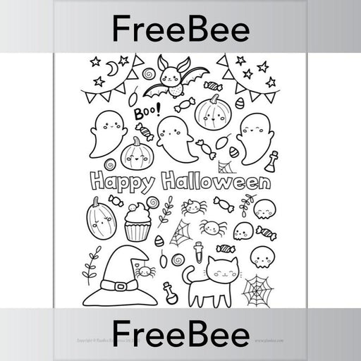 PlanBee Printable Halloween Activities for Kids by PlanBee