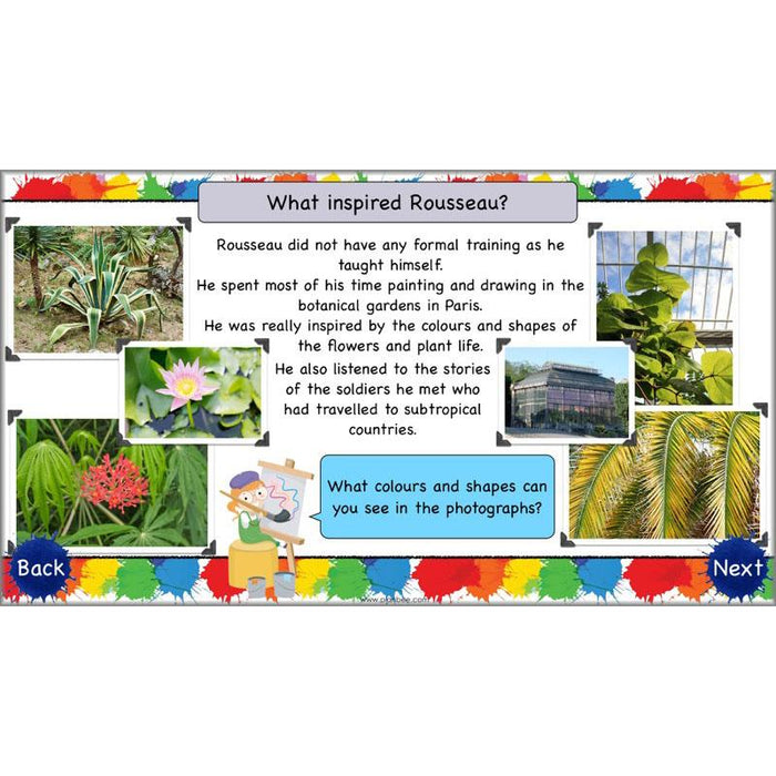 PlanBee Henri Rousseau KS1 Art Lessons created by PlanBee