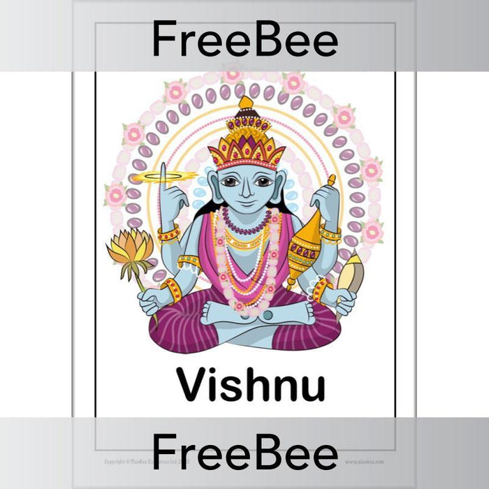 PlanBee Free Hindu Gods and Goddesses KS2 Posters by PlanBee