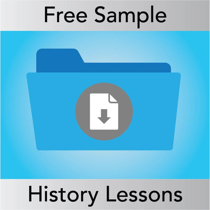 SAMPLE History Lessons from Year 1 to Year 6