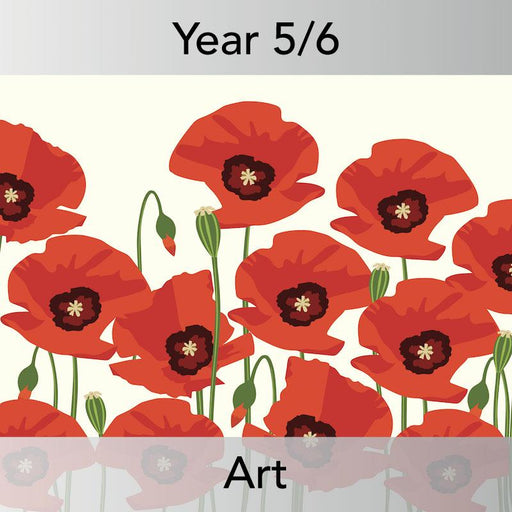 PlanBee WW1 Art Ideas KS2 In Flanders Fields Art Lessons by PlanBee