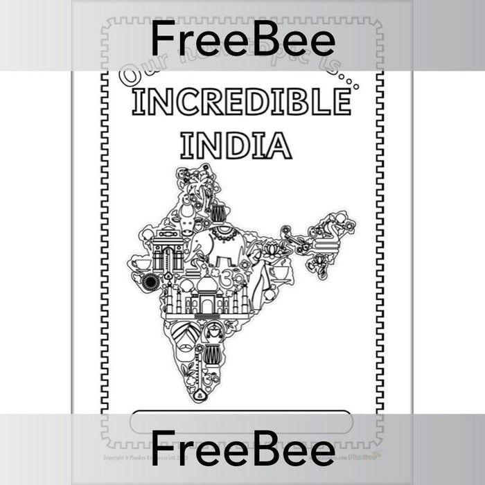 Incredible India Topic Bundle Cover