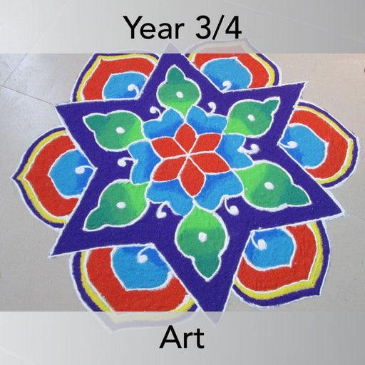 PlanBee Indian Art KS2 Lesson Planning Packs for Year 3 & Year 4