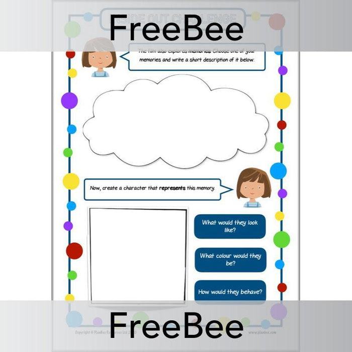 Inside Out Activity Sheets