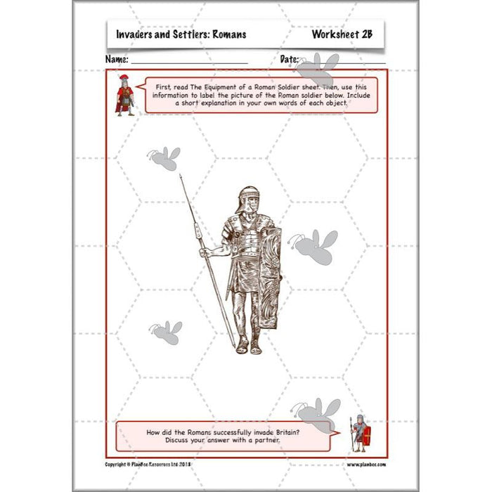 Invaders and Settlers: Romans