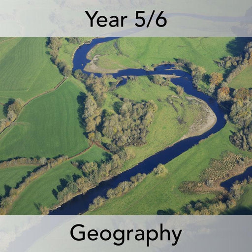 PlanBee Investigating Rivers KS2 planning – physical geography resources