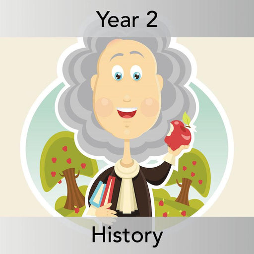 PlanBee Isaac Newton: History Lesson Planning for KS1 - Year 2