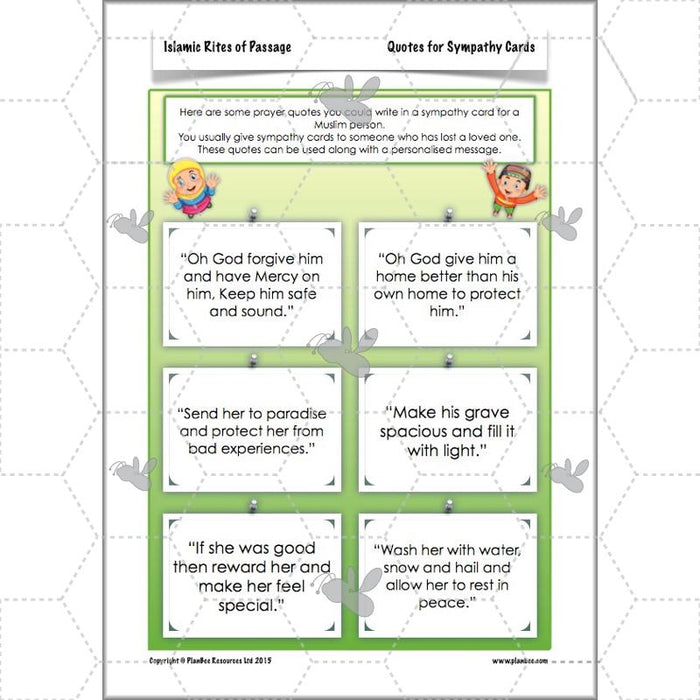 PlanBee Islamic Rites of Passage - KS2 Islam RE Lessons for Year 3 & Year 4